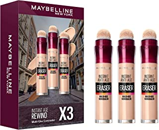 Maybelline New York New York New York Set of 3 Pieces Instant Age Rewind Multi-Use Concealer - Pack of 1