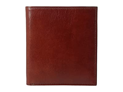 Bosca Old Leather Collection 12-Pocket Credit Wallet (Cognac Leather) Bi-fold Wallet