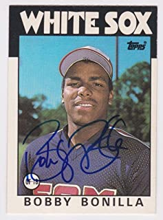 1986 Topps Traded Bobby Bonilla Rc Rookie Auto Autograph Signed Card #12t - JSA Certified - Baseball Slabbed Autographed Cards