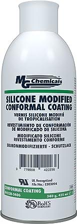 MG Chemicals - 422B-340G 422B Silicone Conformal Coating, Clear, 340 gram Aerosol
