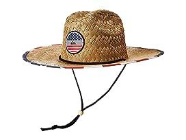 Outsider America Straw Lifeguard Hat