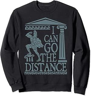 Hercules Go The Distance Greek Art Graphic Sweatshirt