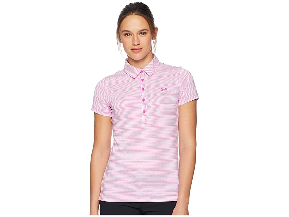 Under Armour Golf Zinger Novelty Polo (Fluo Fuchsia/Fluo Fuchsia/Fluo Fuchsia) Women