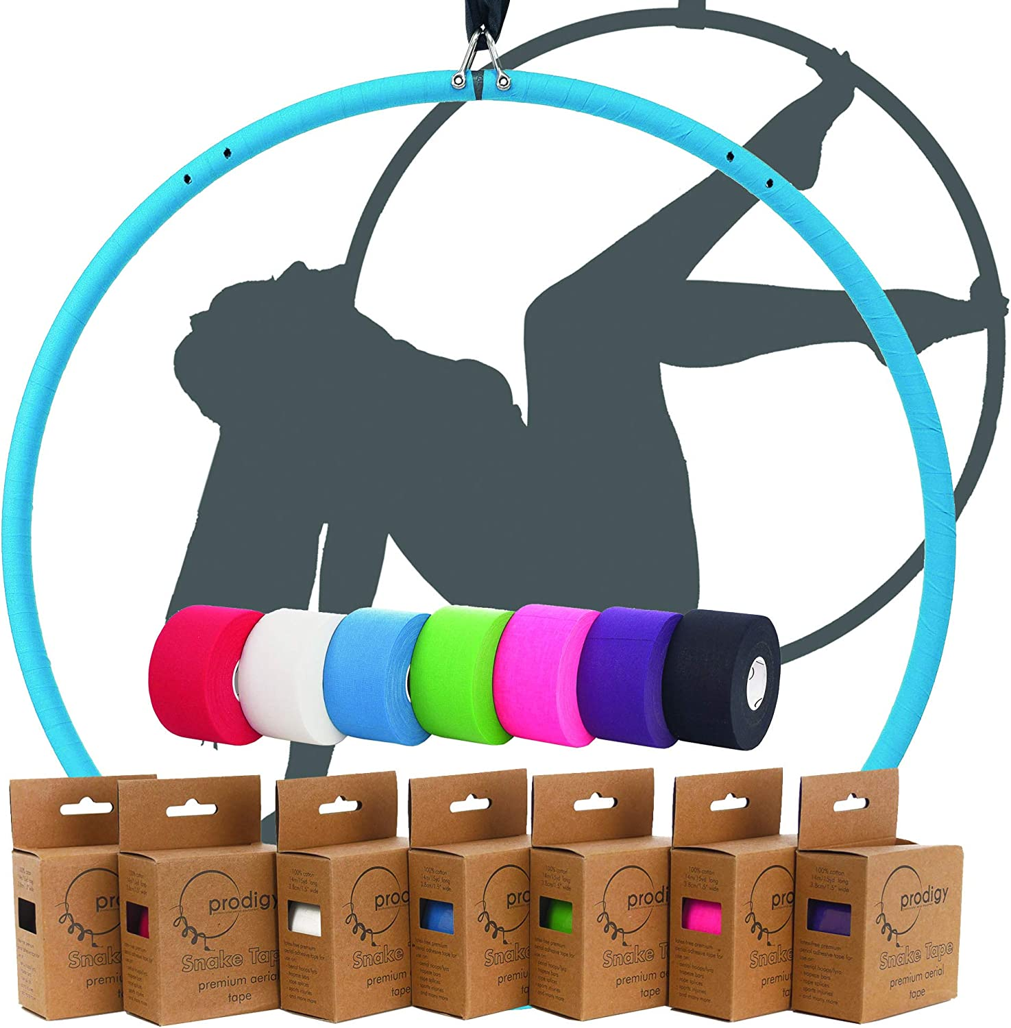 Prodigy Aerial Premium Snake Long Beach Mall Tape - Tra Designed for Lyra New Orleans Mall Hoop