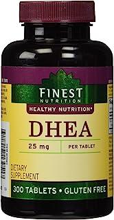 Finest Nutrition DHEA 25mg Tablets 300 ea