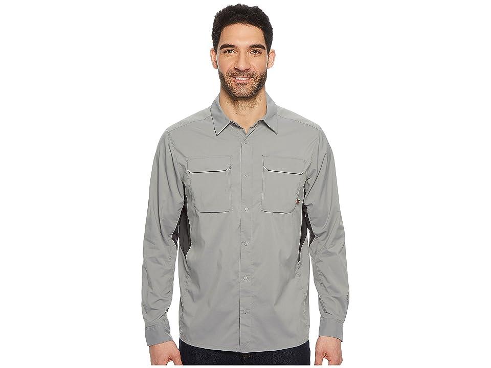 Mountain Hardwear Canyon Protm Long Sleeve Top (Manta Grey) Men