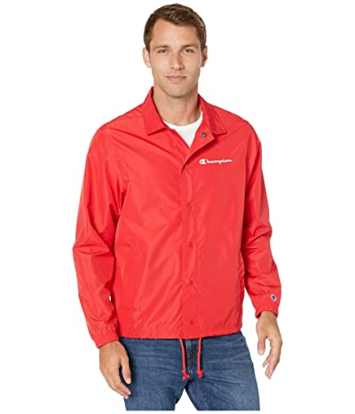 Champion Classic Coaches Jacket (Scarlet) Men