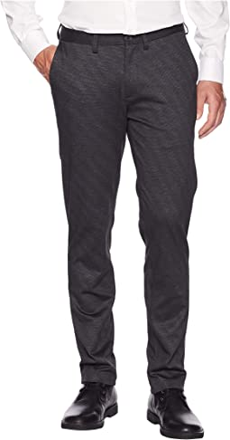 Ponte Knit Slim Chino Pants