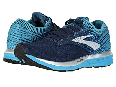 Brooks Ricochet (Navy/Blue/White) Women