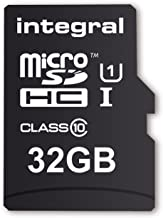Integral 32GB UltimaPro microSDHC CL10 UHS-I memory card w/SD adapter