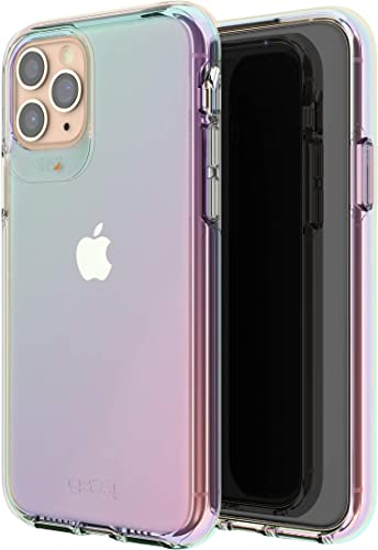 high quality GEAR4 Crystal Palace outlet online sale Iridescent Compatible with iPhone 11 2021 Pro Case, Advanced Impact Protection with Integrated D3O Technology, Anti-Yellowing, Phone Cover – Iridescent sale
