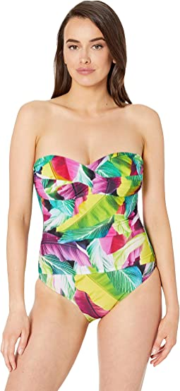 6ab624b35b2 La blanca petal pusher halter one piece | Shipped Free at Zappos