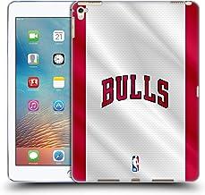 Head Case Designs Oficial NBA Jersey Chicago Bulls Carcasa de Gel de Silicona Compatible con Apple iPad Pro 9.7 (2016)