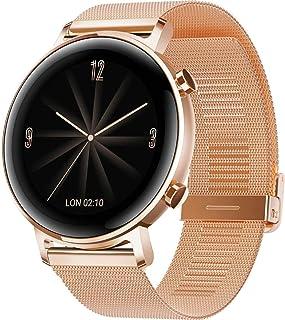 "Huawei DIANA-B19B GT 2 Elegant Edition Smartwatch, 42mm, 1.2"" AMOLED Display, Refined Gold"