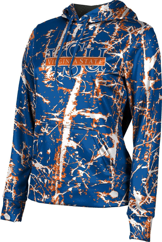ProSphere Virginia State University Girls' Pullover Hoodie, School Spirit Sweatshirt (Distressed)