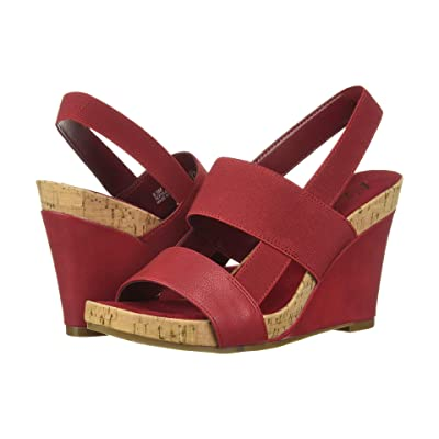 A2 by Aerosoles Bone Plush (Red Nappa) Women