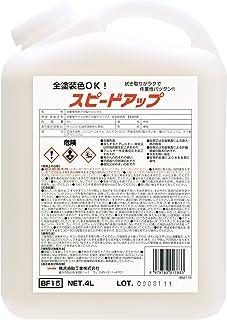Linda [ 横浜油脂工業 ] ボディの水アカ取りワックス(全色対応) スピードアップ 4L BF15 [HTRC9]
