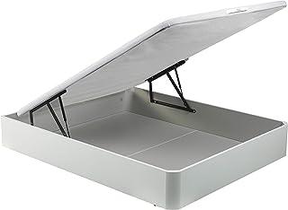 PIKOLIN canapé abatible Gran Capacidad de almacenaje Color Blanco 150x190 Servicio de Entrega Premium Incluido