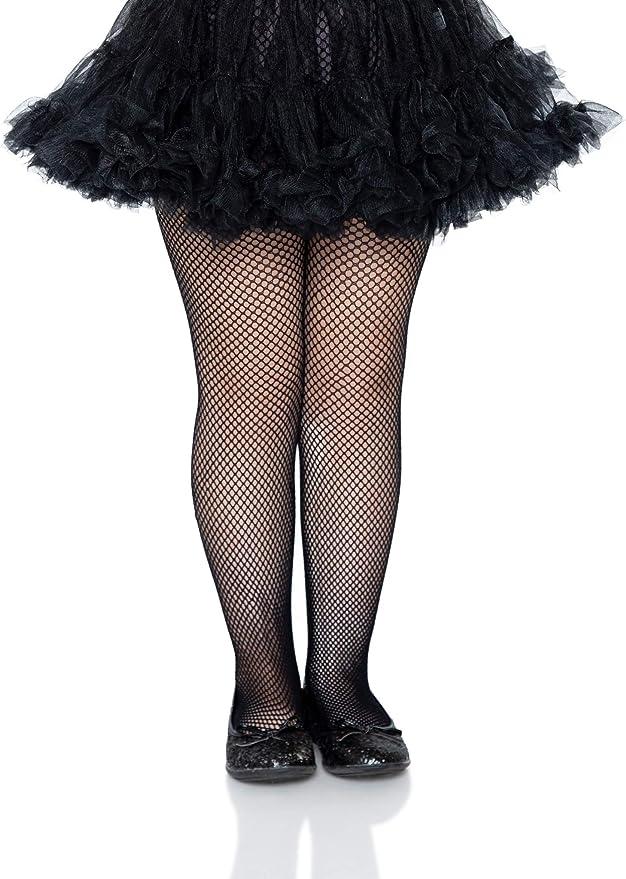 60s 70s Kids Costumes & Clothing Girls & Boys Leg Avenue Girls Fishnet Tights  AT vintagedancer.com
