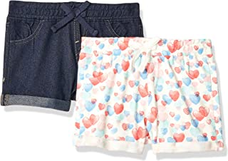 LOOK by crewcuts Girls 2-Pack Cycle Short Crew Brand // J