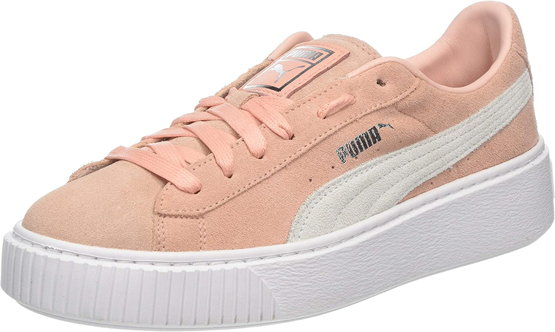 PUMA Suede Platform, Women's Low-Top Sneakers bluee