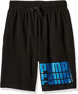 PUMA Boys 91193378FME-P003 Boys' Cotton Shorts Shorts - Black