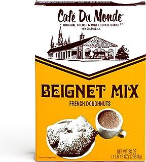 Caf� Du Monde Beignet Mix 28 oz each (3 Items Per Order)