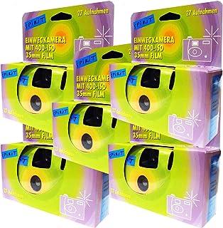 5x cámaras desechables/boda cámara/cámara de fotos desechable (27fotos con flash 5unidades)