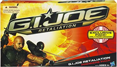G.I. Joe Retaliation Movie Sneak Peek 3.75 inch Figure 4 pac