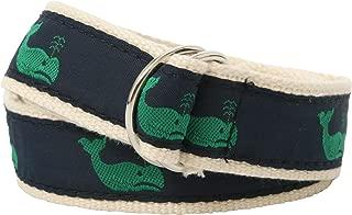Bean Belts Boy's Preppy Whales Belt