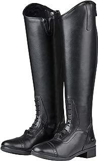 Saxon Womens/Ladies Syntovia Tall Field Boots (6.5 US Regular Regular) (Black)