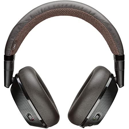 Poly (Plantronics + Polycom) Plantronics BackBeat PRO 2 Headphones - Wireless Noise Cancelling - Black Tan, Black and Tan