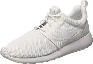 Nike Men's Rosherun Running Shoe White/white (7)