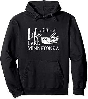 Lake Minnetonka, Minnesota, Family Vacation Hoodie