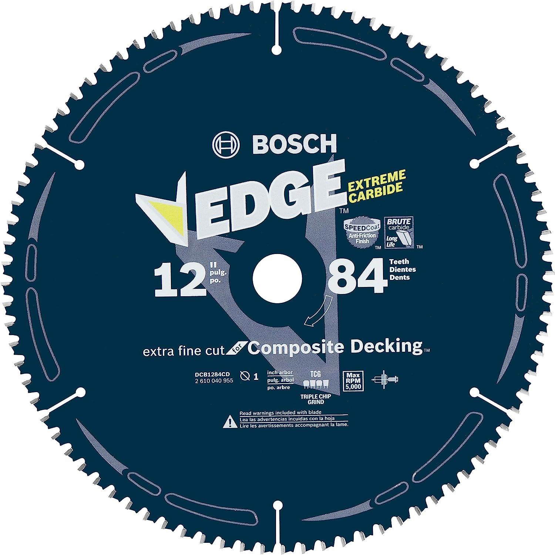 BOSCH DCB1284CD : Best Circular Saw Blade for Composite Decking best circular saw blade for cutting wood
