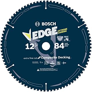 Bosch DCB1284CD 12 In. 84 Tooth Edge Circular Saw Blade for Composite Decking