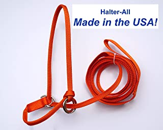 Halter-All Medium Shetland Pony Cob Endless Adjustable Halter & Lead USA (Horse Halter)