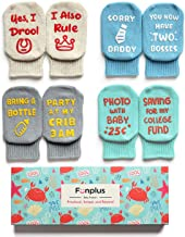 Christmas Socks for Baby Boys Girls | Cute Xmas Gift Holiday Socks 4 Pair