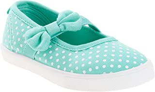 Faded Glory Toddler Girls Casual Mary Jane Shoe Mint Dot