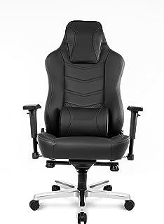 AKRacing Office Series Onyx Executive Desk Chair with High Backrest, Recliner, Swivel, Tilt, Rocker & Seat Height Adjustme...