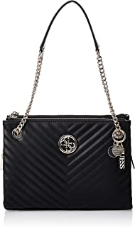 Guess Womens Satchels Bag, Black - VG766308