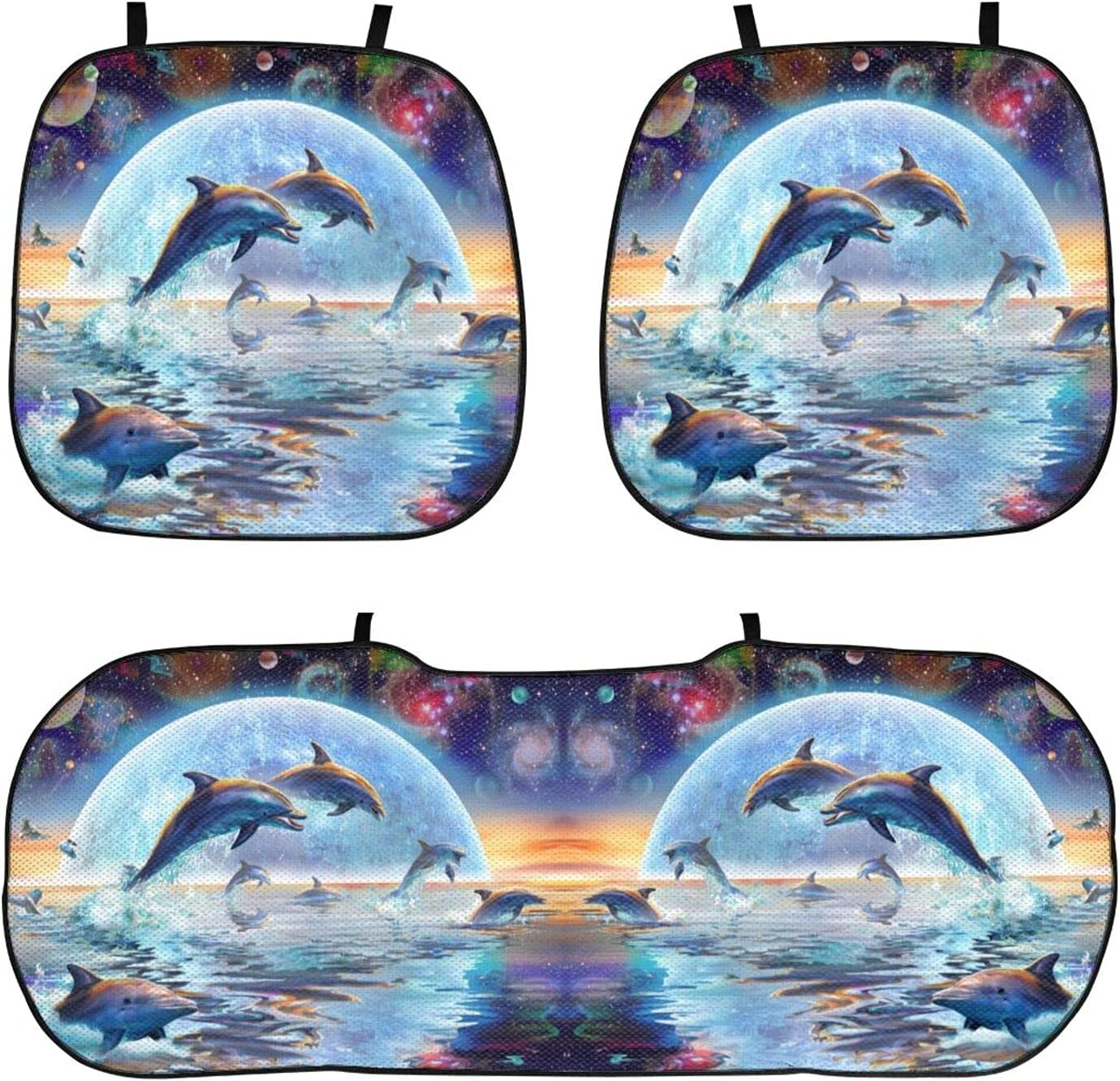 Moon Night Dolphin Galaxy Planet Limited price Car Cash special price M 3D Cushion Seat Universal
