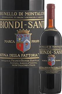 1980 Brunello di Montalcino Biondi Santi ブルネッロ ディ モンタルチーノ ビオンディ サンティ 1980 [並行輸入品]