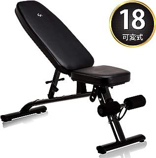 マッスルジーニアス(Muscle Genius) トレーニングベンチ 折りたたみ式 腹筋トレーニング器具 MG-TB01 18段階角度調整