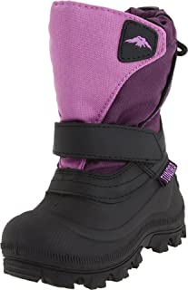 Tundra Quebec, Watter Resistant Child Winter Boots Purple 5 M US Little Kid