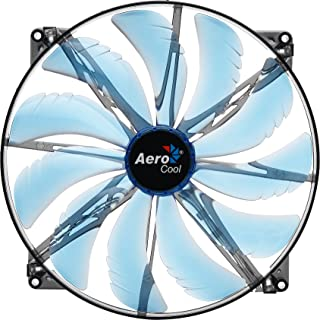 AeroCool Silent Master 200mm LED Fan Cooling Blue