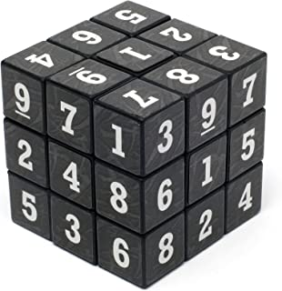 Loftus Sudoku Puzzle Cube - A Fun Portable Take On The Classic Sudoku Game - Can You Solve All 6 Sides, Multicolor