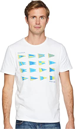 Heritage Sail Flags Crew T-Shirt