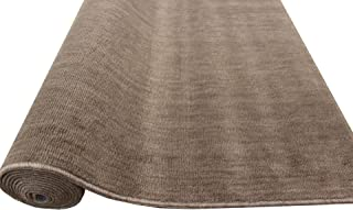 カーペット 12畳 絨毯 ラグ 丸巻き 日本製 抗菌 無地 じゅうたん 382×572cm/ストーリー本間12帖ブラウン