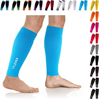 Compression Calf Sleeves (20-30mmHg) for Men & Women - Perfect Option to Our Compression Socks - for Running, Shin Splint, Medical, Travel, Nursing
